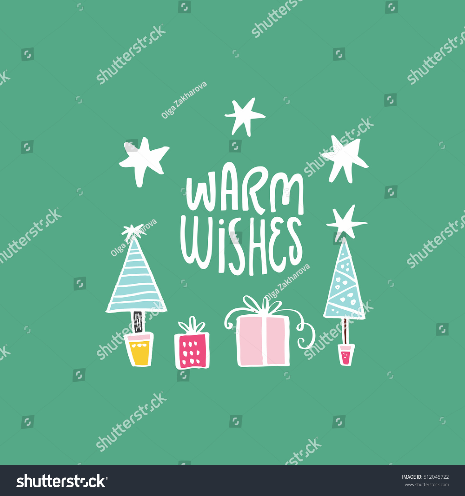 Simple christmas card design handdrawn illustration stock vector hd simple christmas card design with handdrawn illustration and lettering vector holiday series m4hsunfo