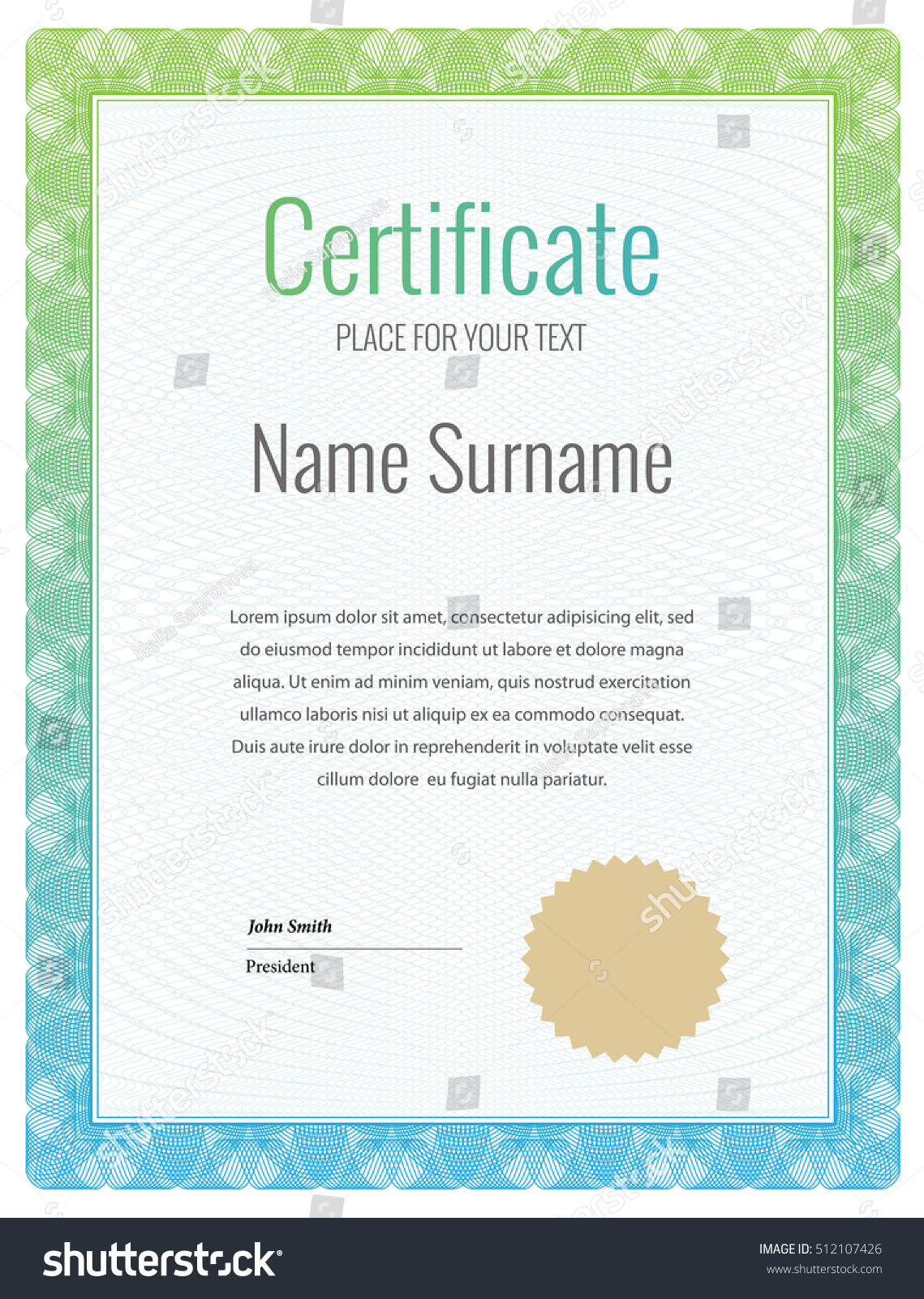 Certificate template diplomas currency award free certificate of certificate template diploma currency award background stock stock vector certificate template diploma currency award background gift yelopaper Image collections