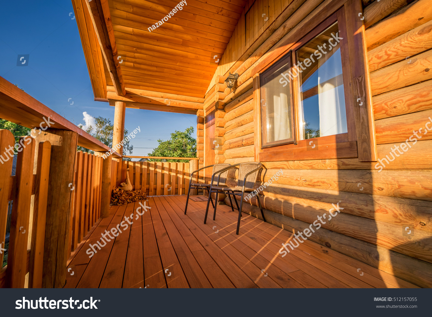 Beautiful modern terrace lounge pergola stock photo for Terrace pergola