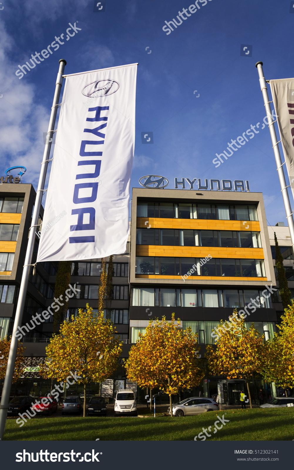 Prague czech republic november 7 hyundai stock photo for Hyundai motor finance corporate office