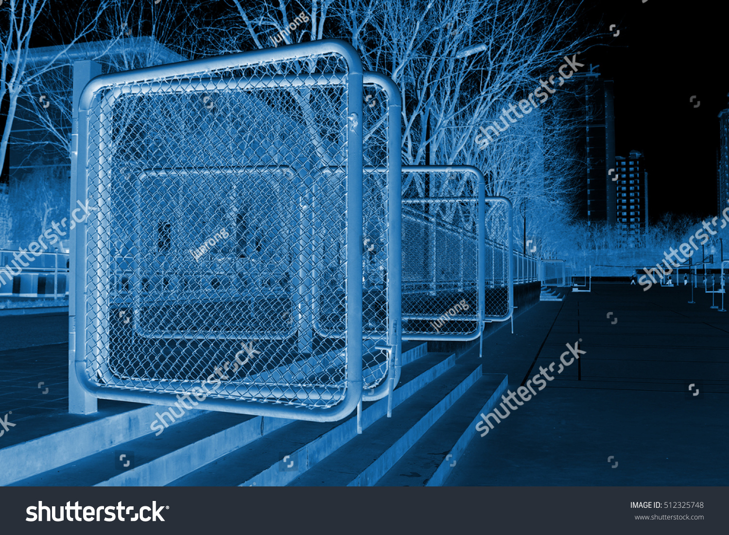 Steel Wire Fence Gate School China Stock Photo (Edit Now)- Shutterstock