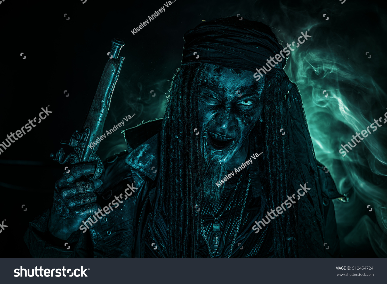 Fantasy Pirate Risen Dead Pirate Zombie Stock Photo Edit