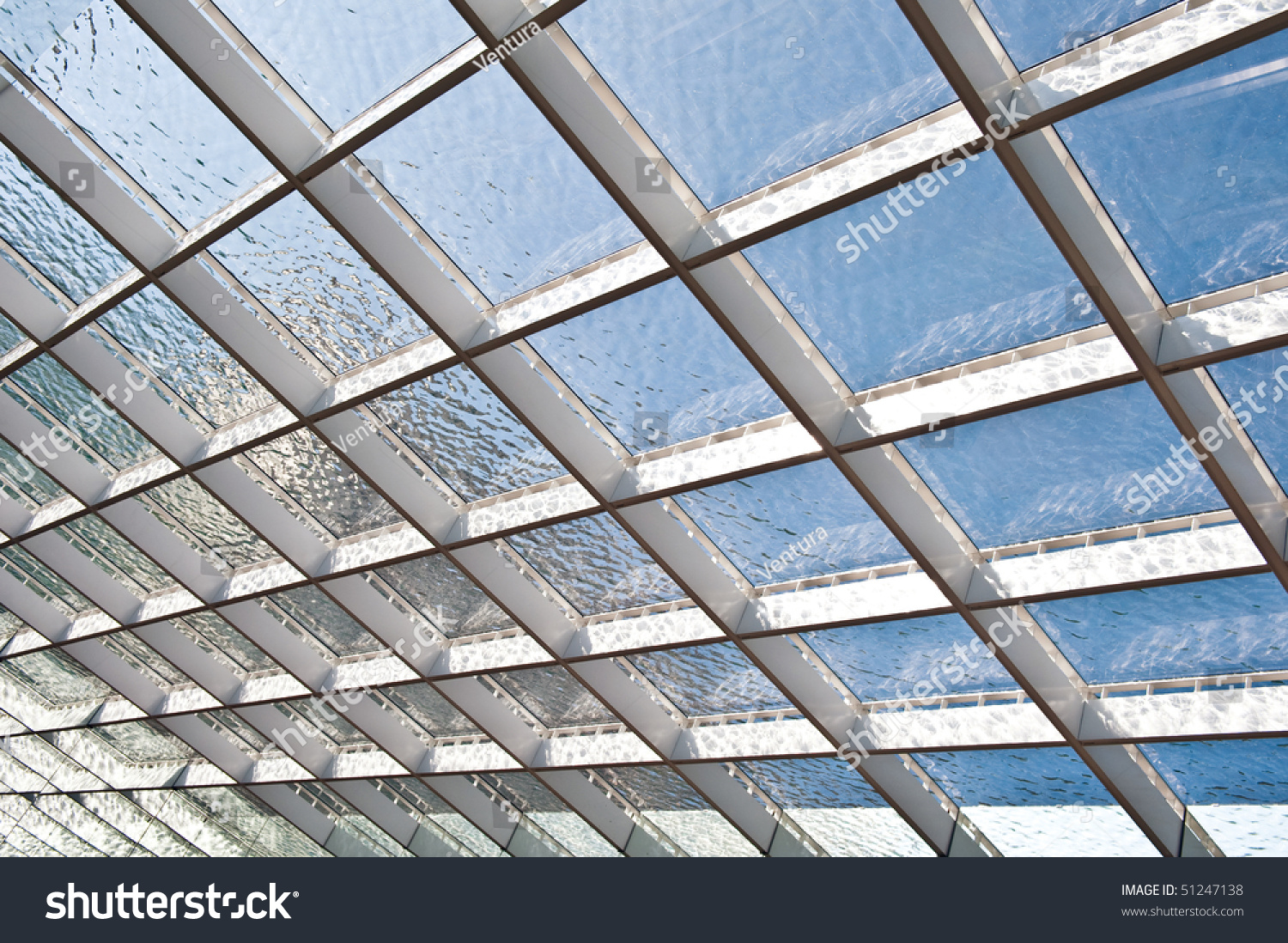 how to build a glass roof