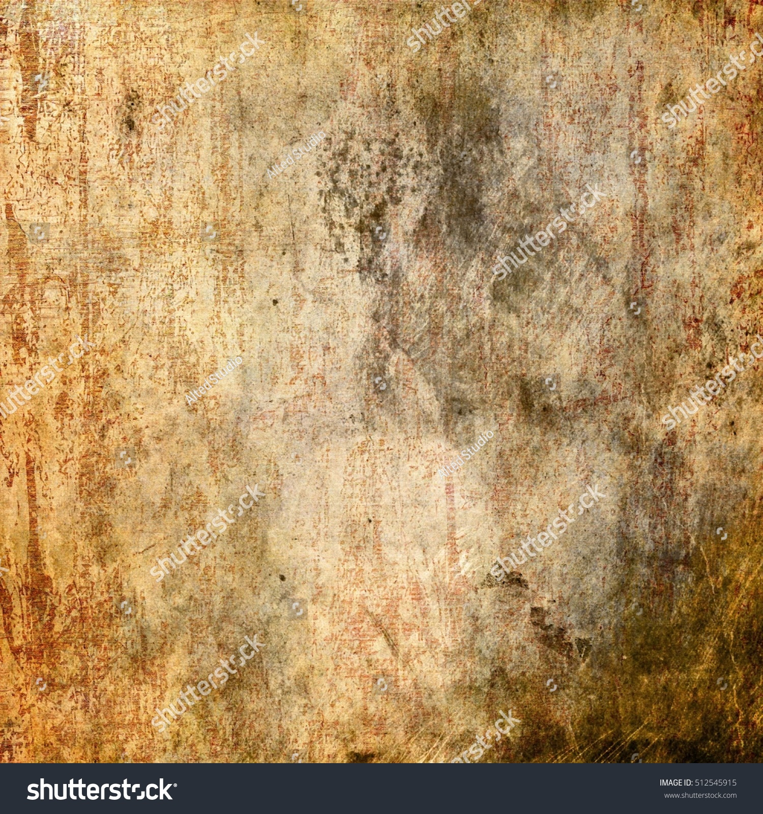 Grunge Wall Highly Detailed Textured Background Stock