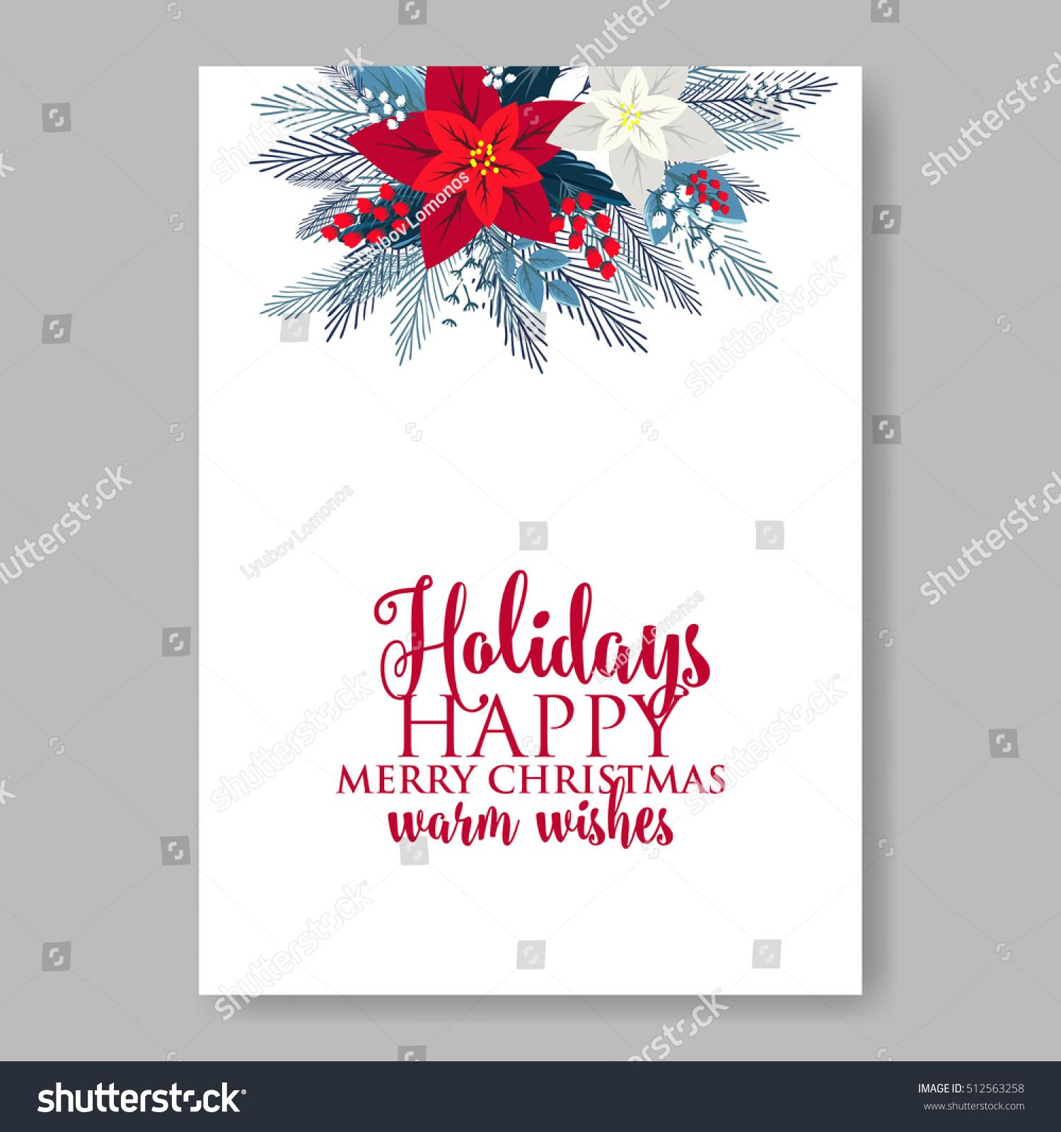 christmas party wreath poinsettia pine branch fir tree needle flower bouquet bridal shower