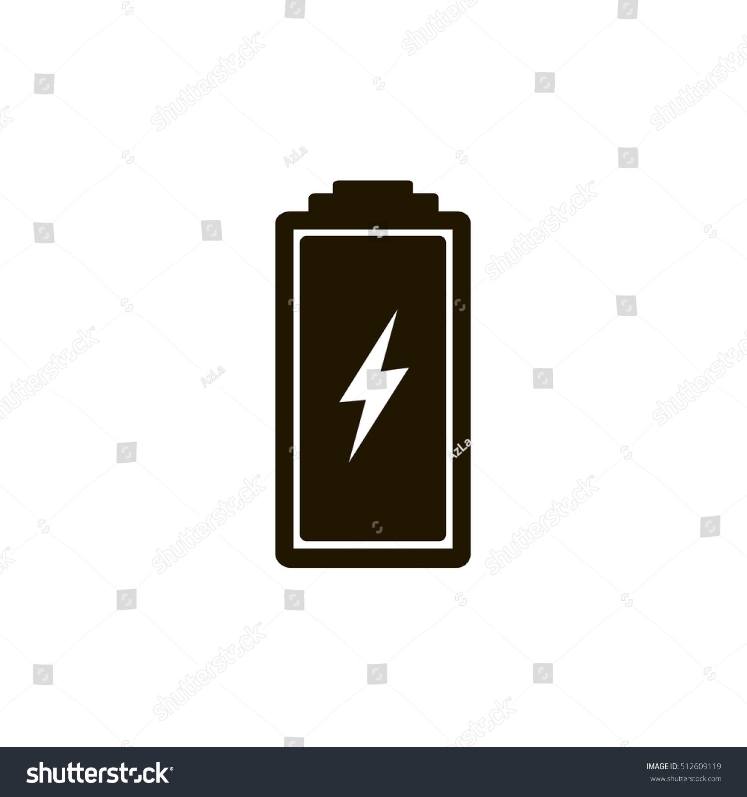 Charging Battery Icon Vector Stock-Vektorgrafik 512609119 – Shutterstock