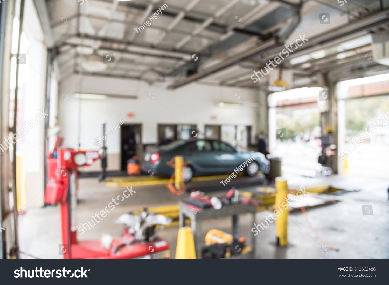 Blurred Image Car Auto Shop Defocused Stock Photo Edit Now 512662486
