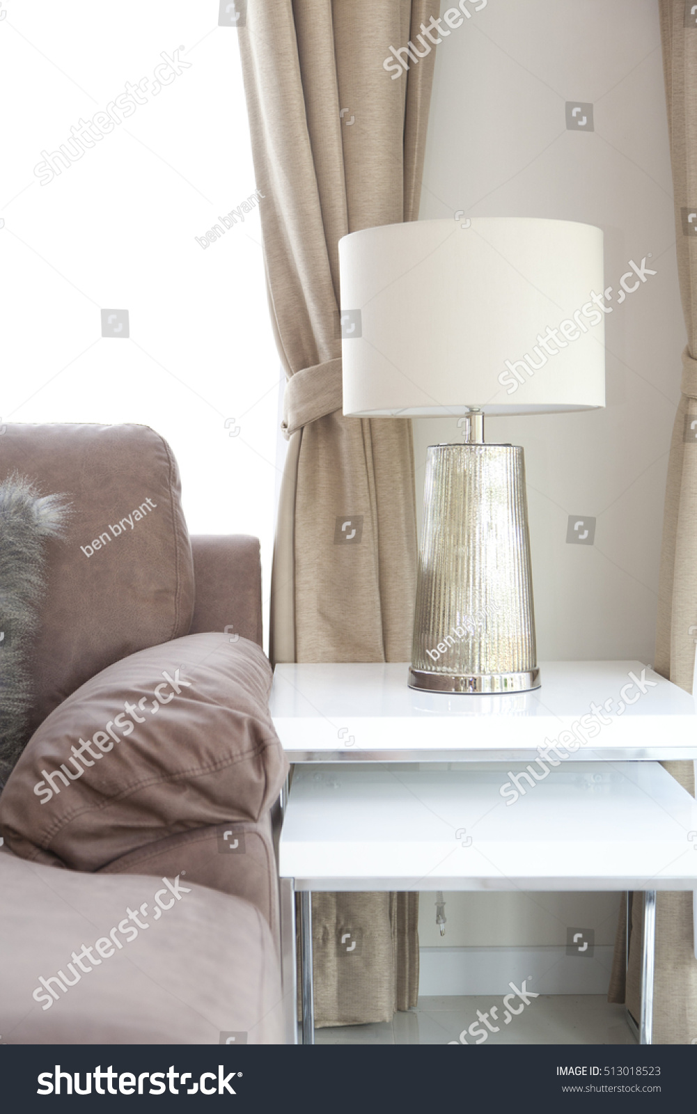 Silver base table lamp living room stock photo royalty free silver base table lamp living room stock photo royalty free 513018523 shutterstock mozeypictures