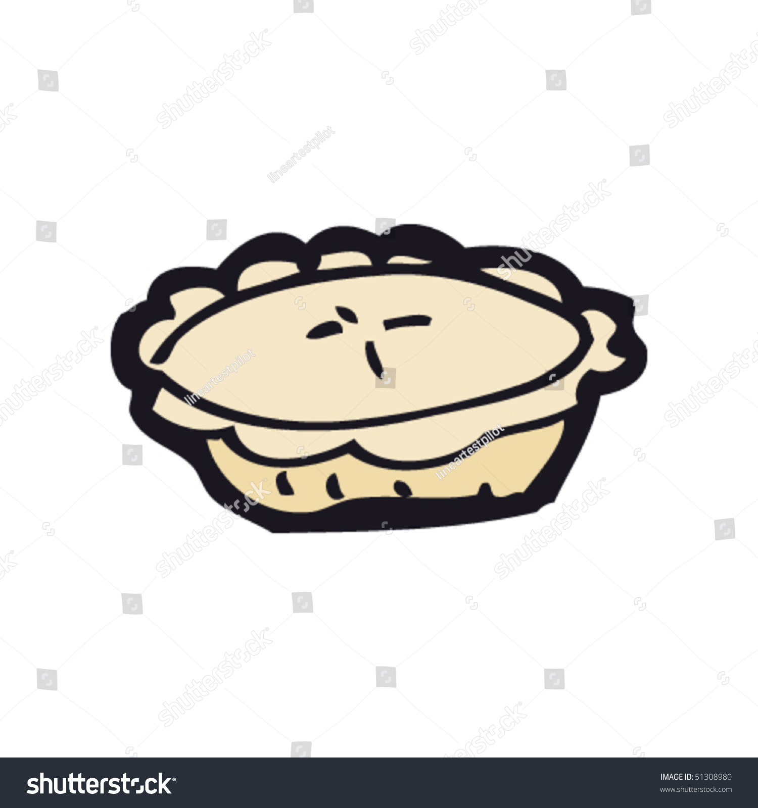 Uncategorized Drawing Of A Pie quirky drawing pie stock vector 51308980 shutterstock of pie