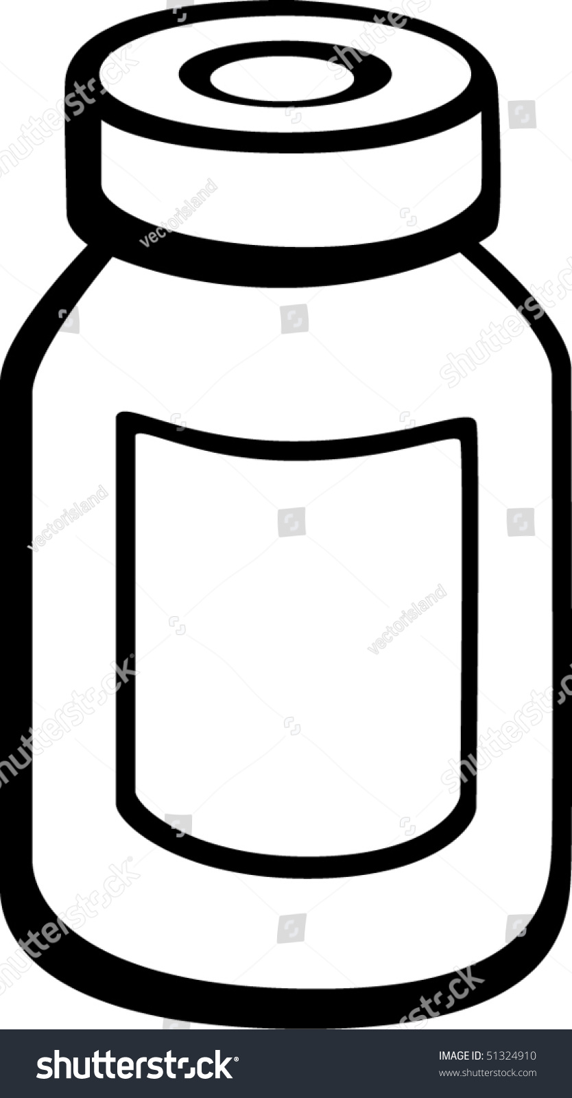 medicine vial bottle stock vector 51324910 shutterstock Margarita Drink Clip Art Clip Art Empty Glass Bottles
