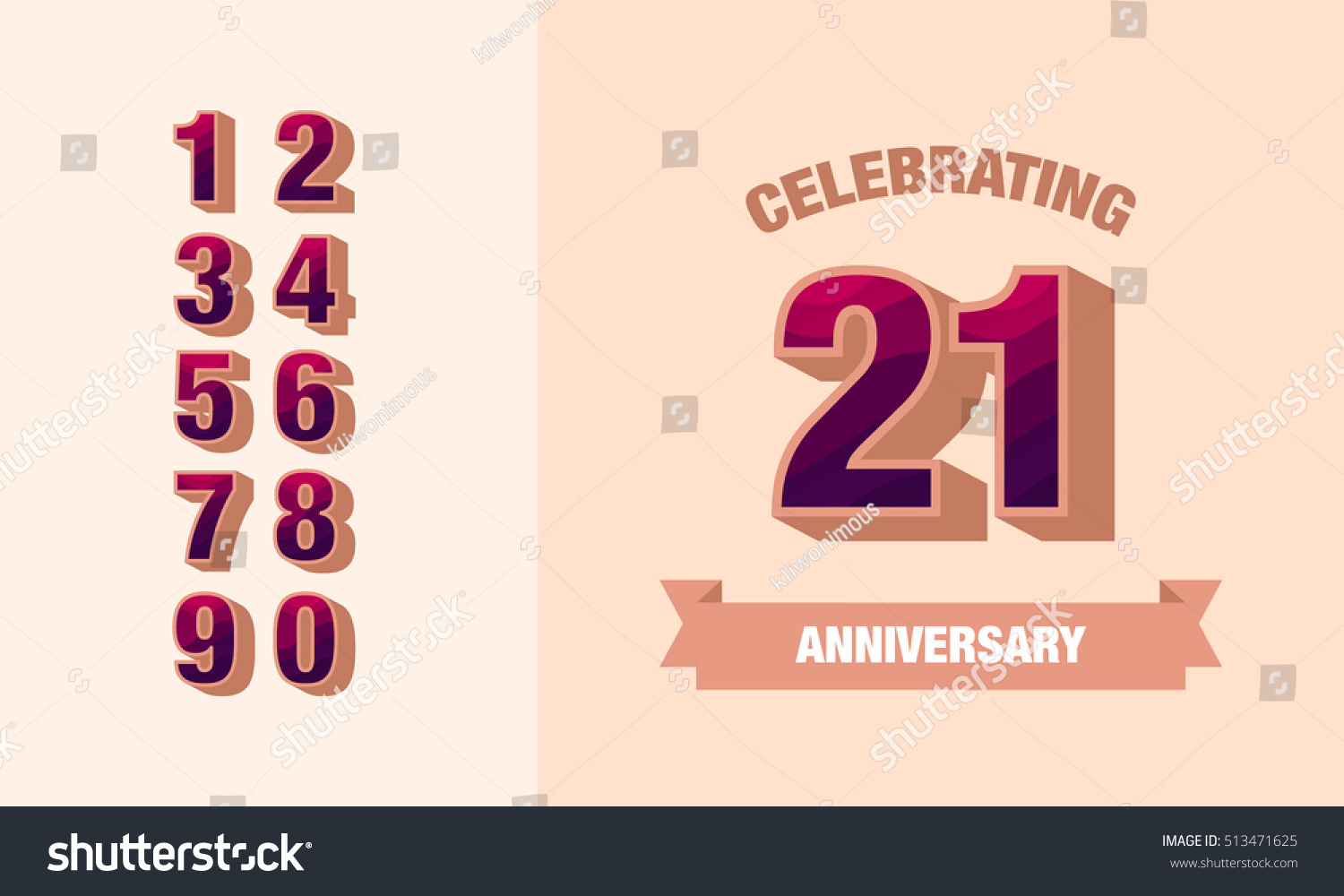 word anniversary card template