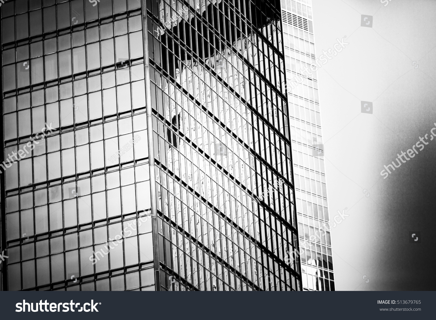Black white images modern commercial buildings stock photo for Design your own commercial building