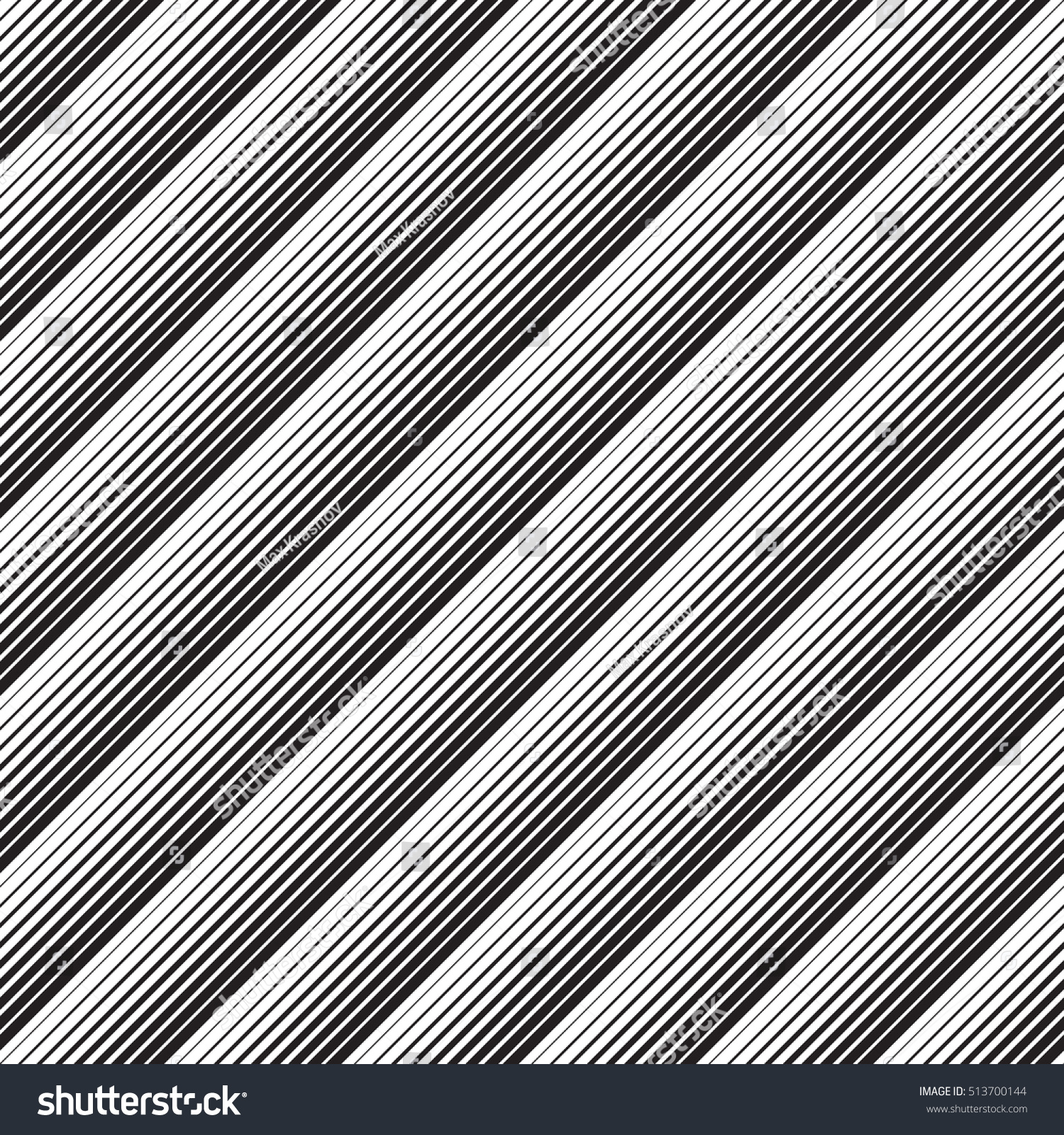 And black diagonal stripes background seamless background or wallpaper - Seamless Diagonal Stripe And Line Pattern Vector Black And White Background Minimal Geometric Wallpaper