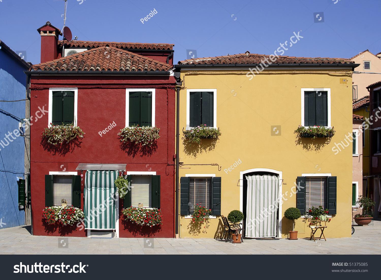 Colorful burano italy burano tourism - Colorful Houses Of Burano Italy Venice Lagoon
