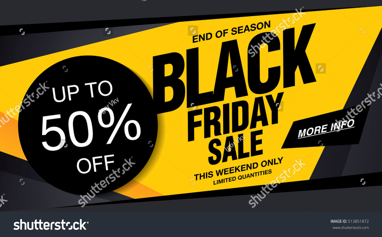 sale poster black friday stock vector 513851872