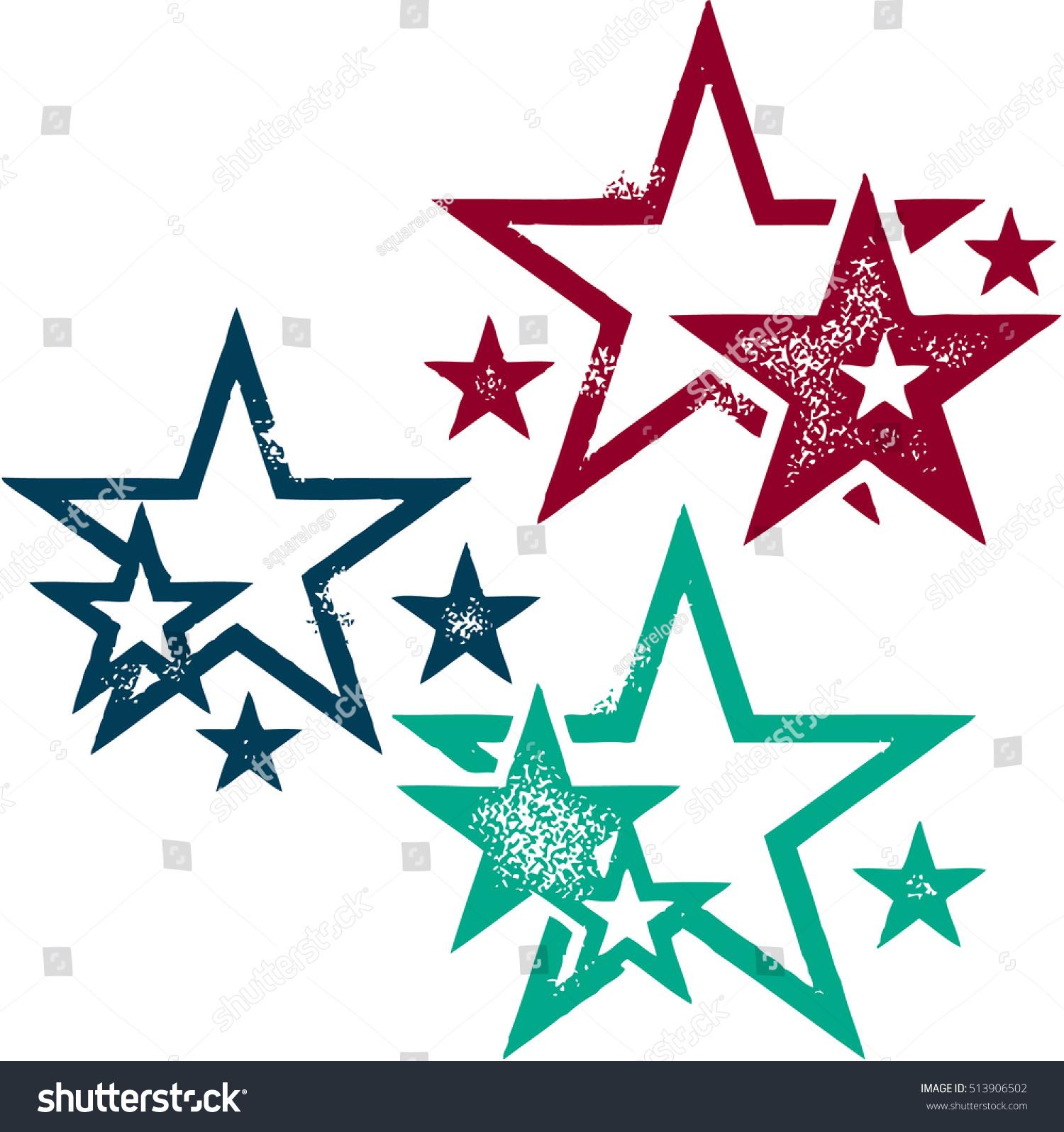 Grunge vector star designs stock vector 513906502 shutterstock grunge vector star designs urmus Gallery