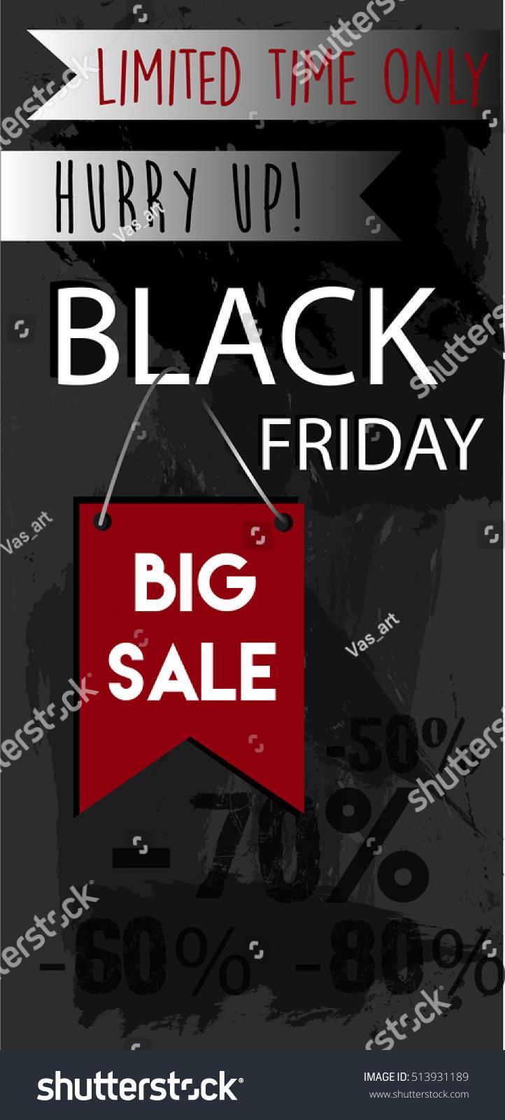 modern black friday flyer big sale stock vector 513931189 shutterstock. Black Bedroom Furniture Sets. Home Design Ideas