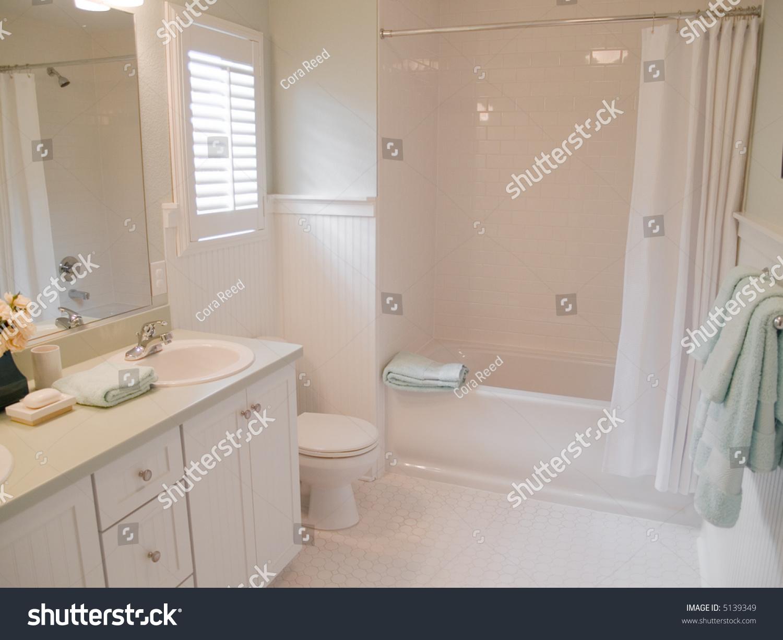 Modern Pretty Master Bathroom