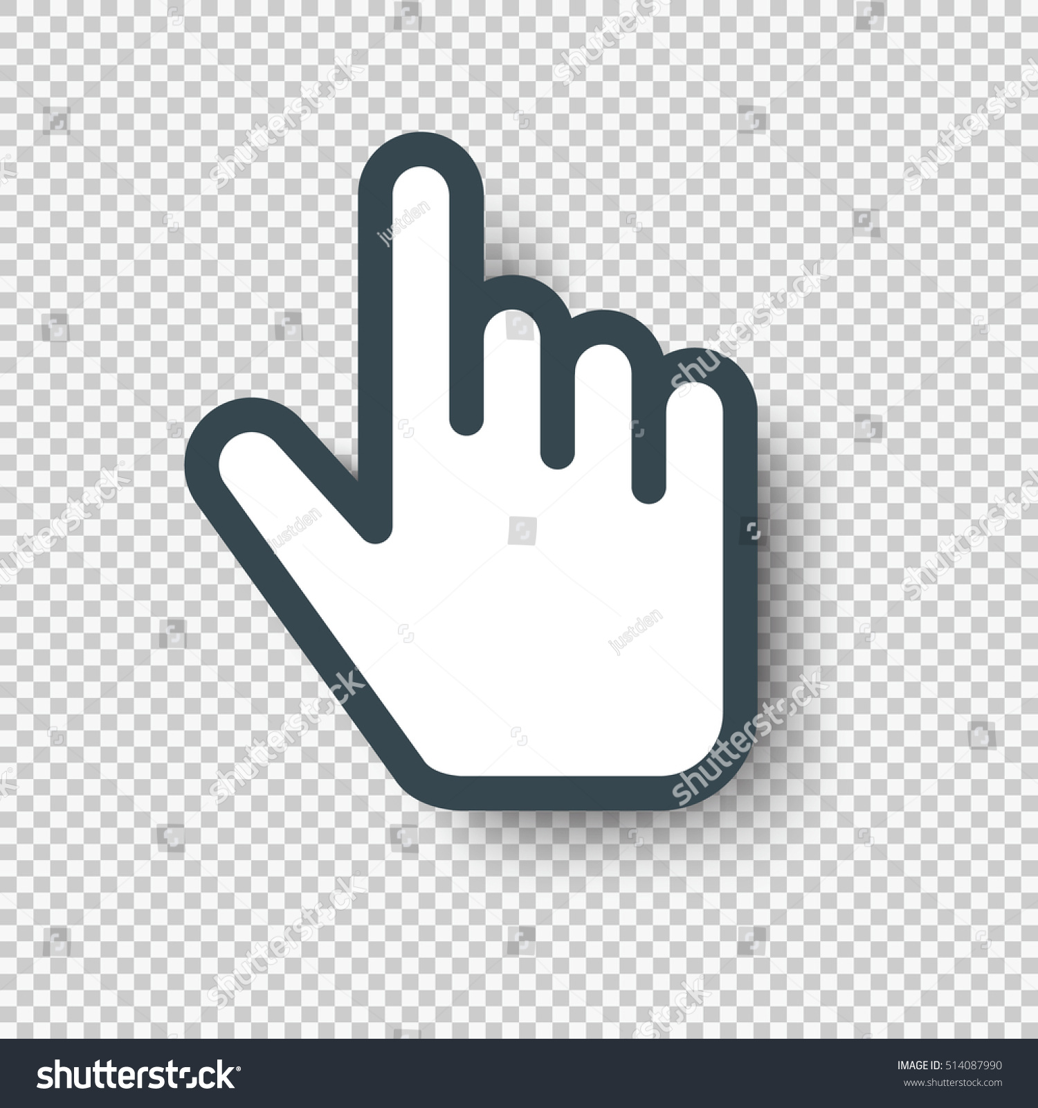 Freebies hand cursor