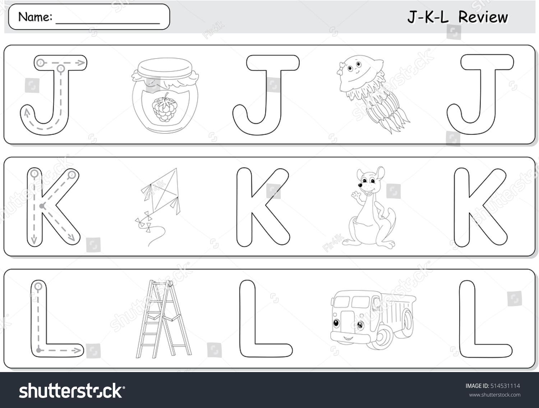 Cartoon Jellyfish Jam Kite Kangaroo Lorry Stock Vector 514531114 ...