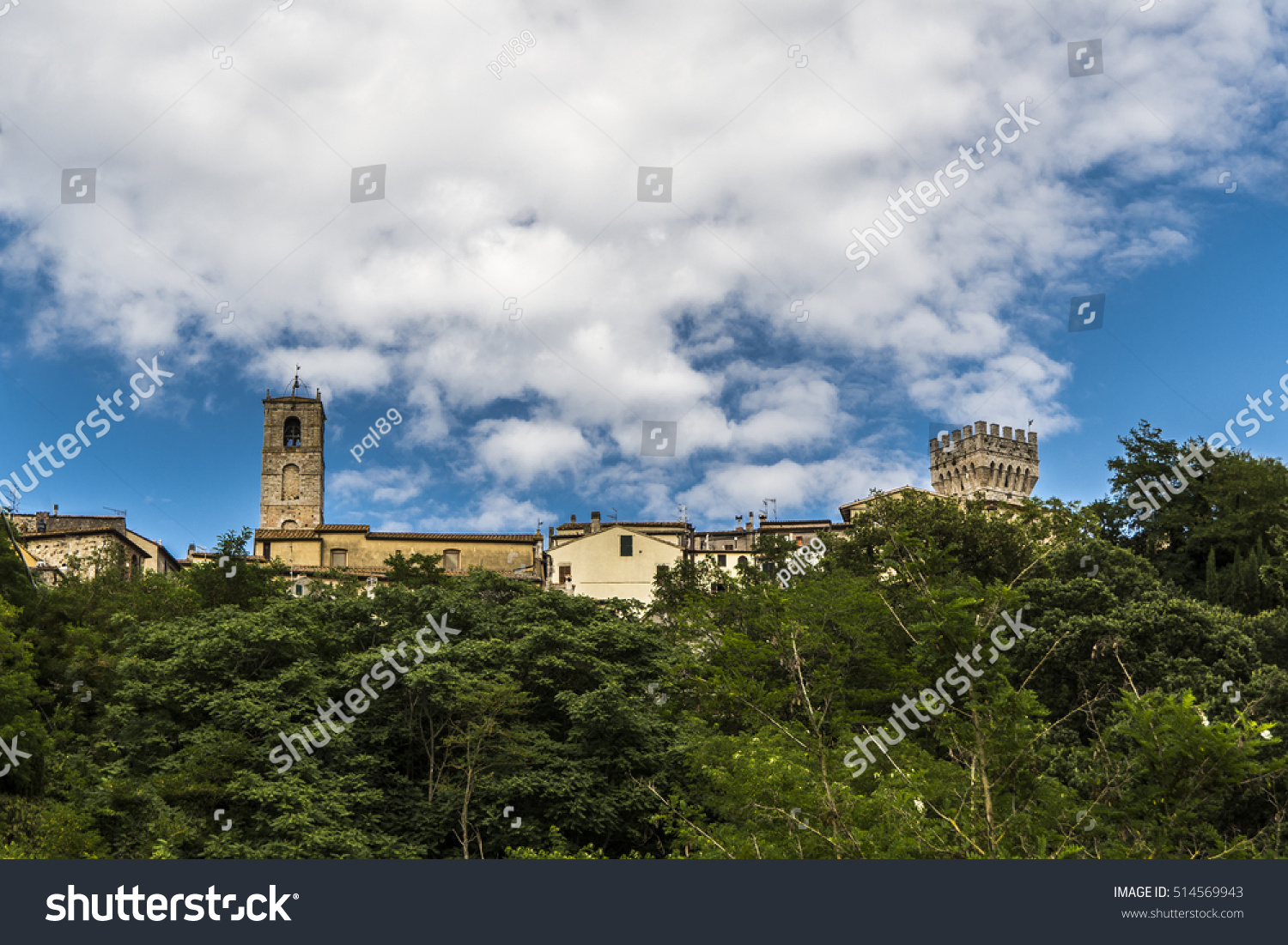 View Below San Casciano Dei Bagni Stock Photo 514569943 - Shutterstock
