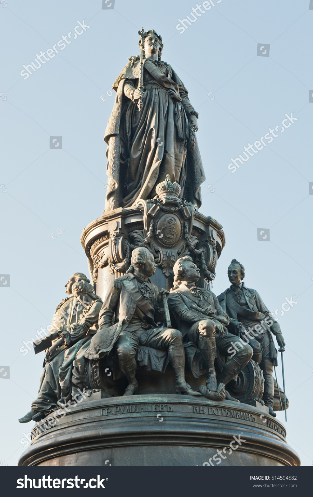 Monument to Catherine the Great in St. Petersburg: description, photo 58