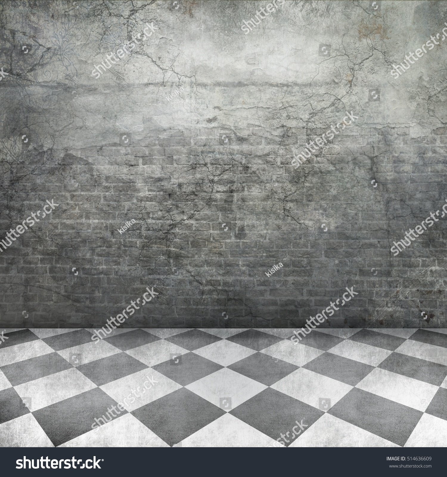 old castle interior background grunge brick stock photo 514636609