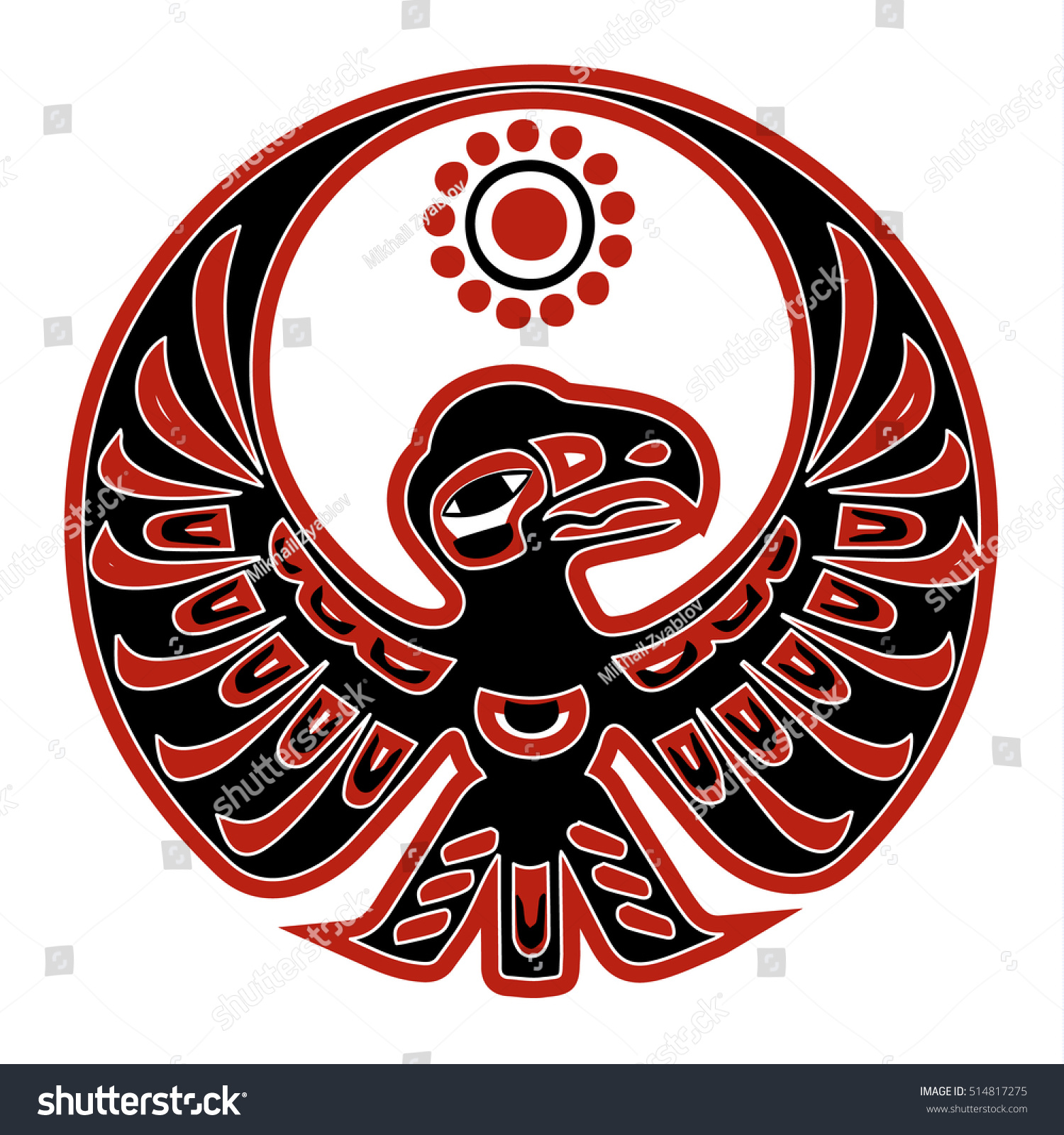 Native american eagle stock vector 514817275 shutterstock native american eagle biocorpaavc Gallery