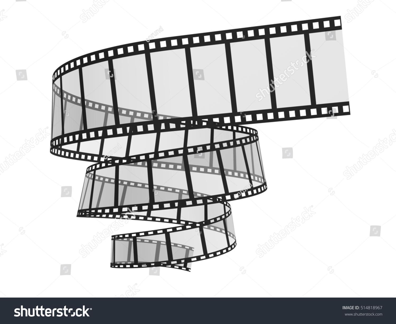 3 D Illustration 3 D Film Strip Image Stock Illustration 514818967 ...