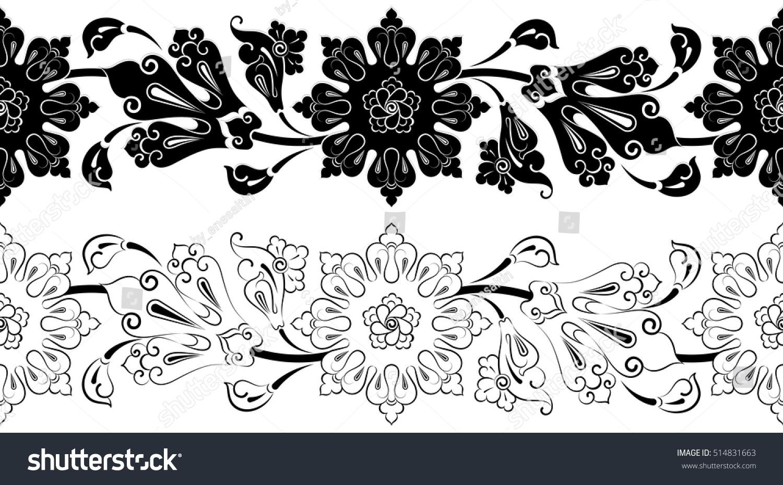 Lotus flower design ottoman motif turkish stock vector royalty free lotus flower design ottoman motif turkish tile ceramic izmirmasajfo