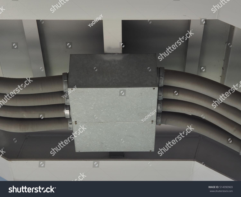 Electrical Conduit Pvc Under Bridge Stock Photo Edit Now Electricwireconduitjpg The