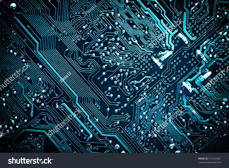 circuit board electronic computer hardware technology stock photo