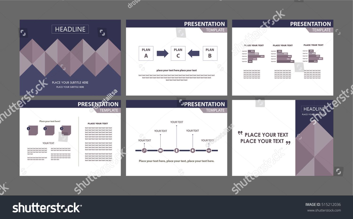 business marketing presentation templates collection conference の