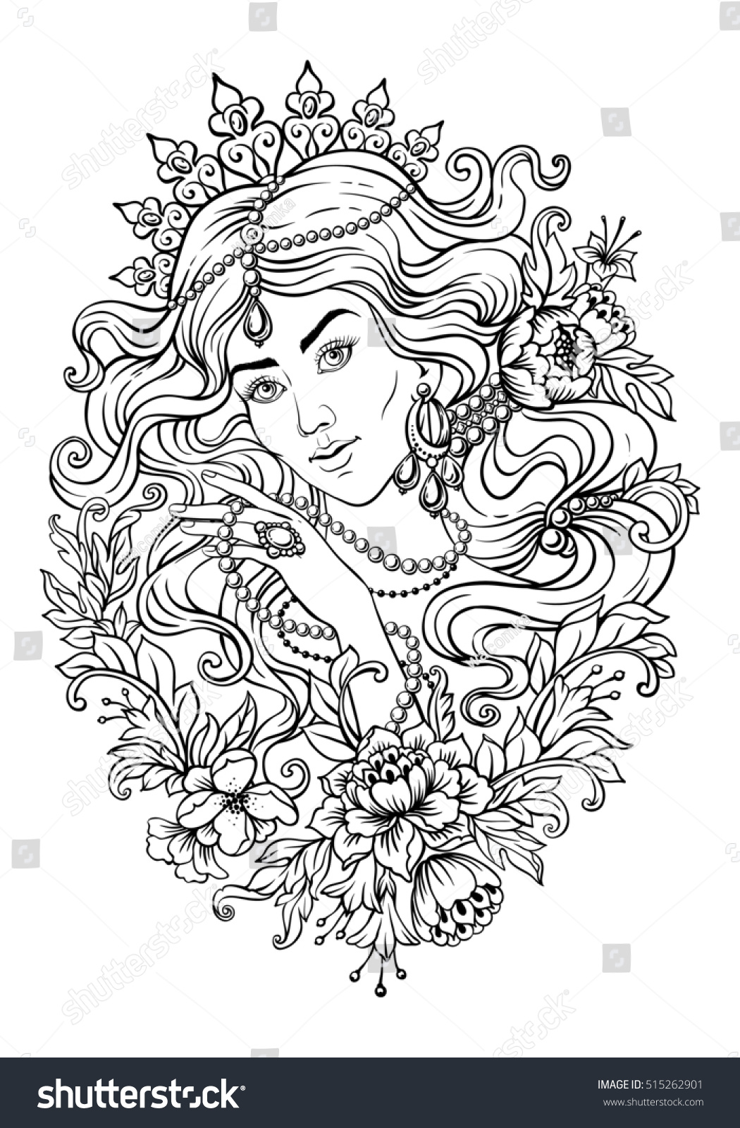 Free Coloring Pages For Adults Beautiful Mother. Free ...
