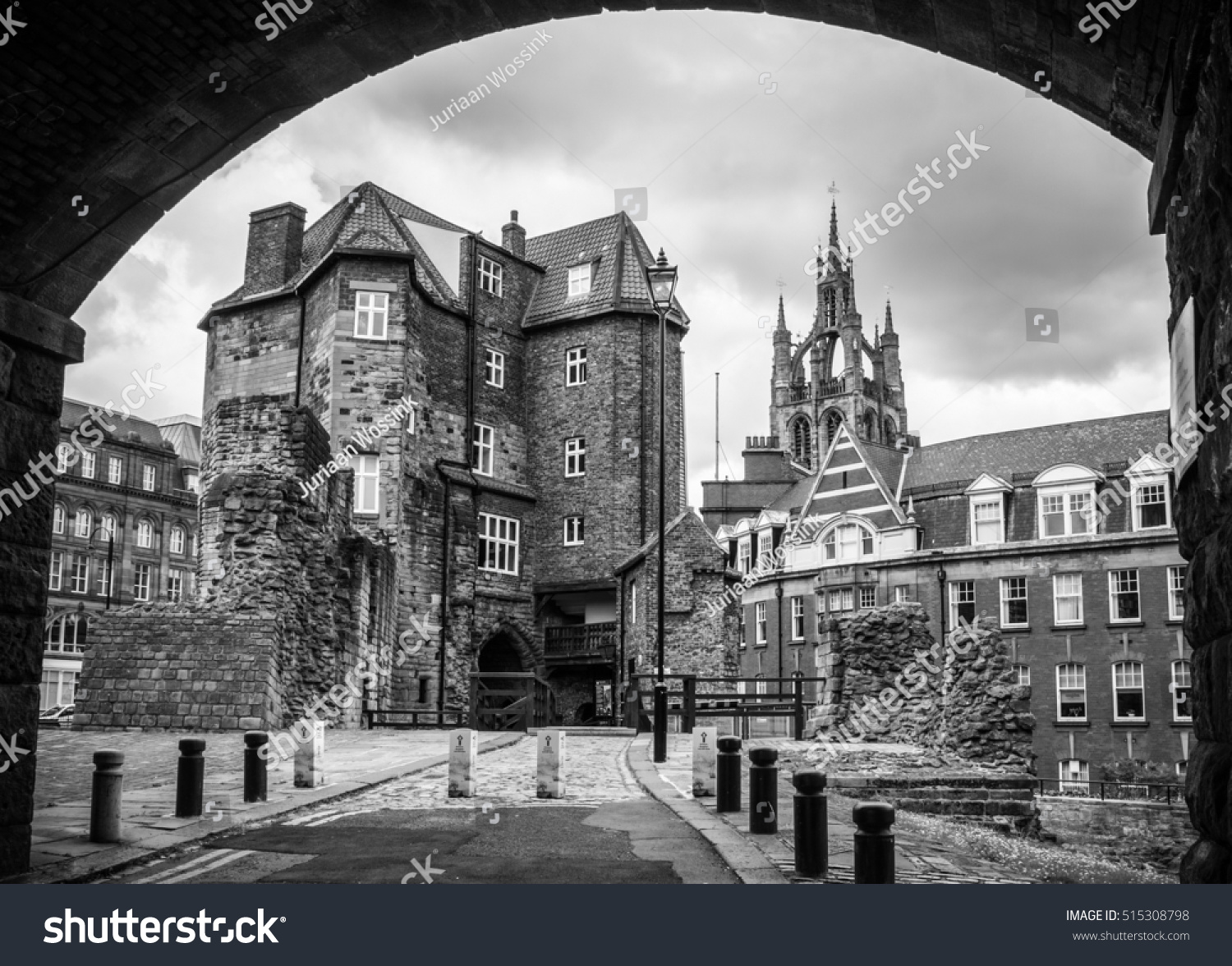 New castle upon tyne united kingdom july 25 2015 black gate of