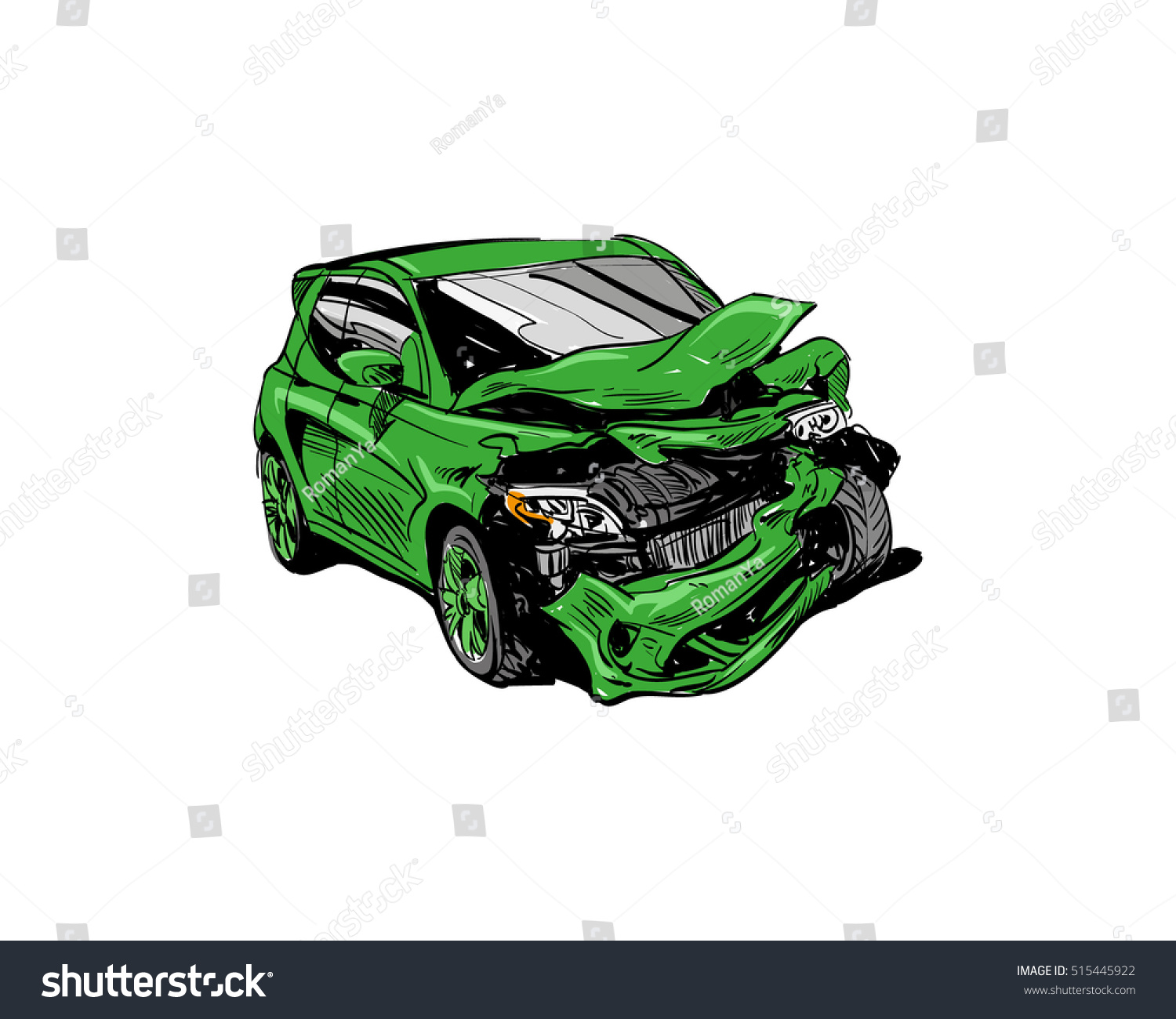 Pretty Car Accident Sketch Gallery - The Best Electrical Circuit ...