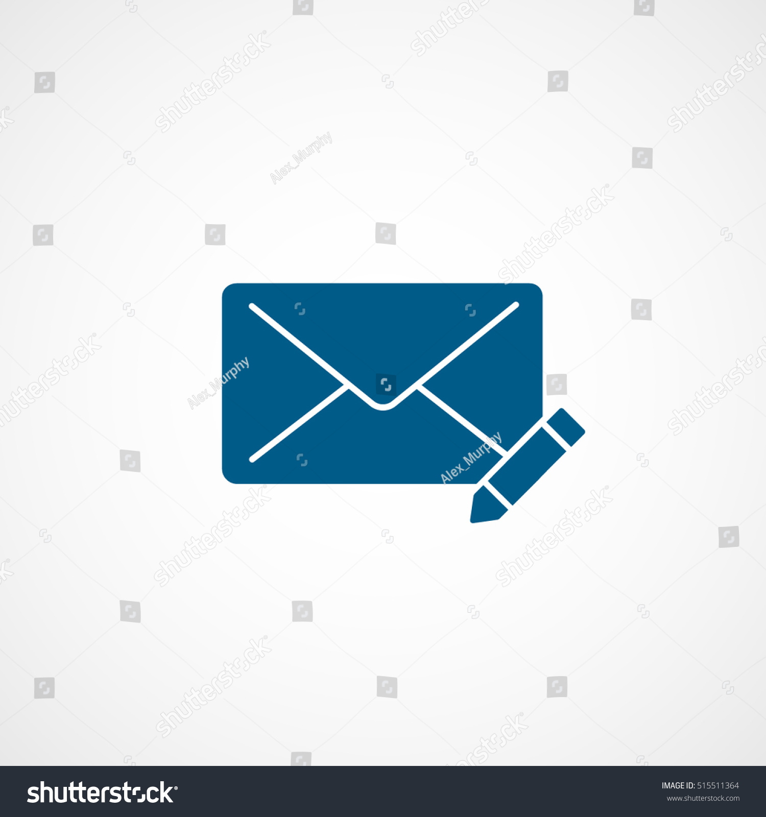 Email message write blue line icon stock vector hd royalty free email message write blue line icon on white background thecheapjerseys Gallery