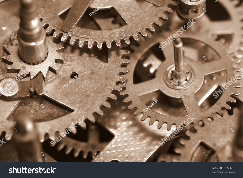 Old Clock Gears : Vintage clock gears stock photo shutterstock
