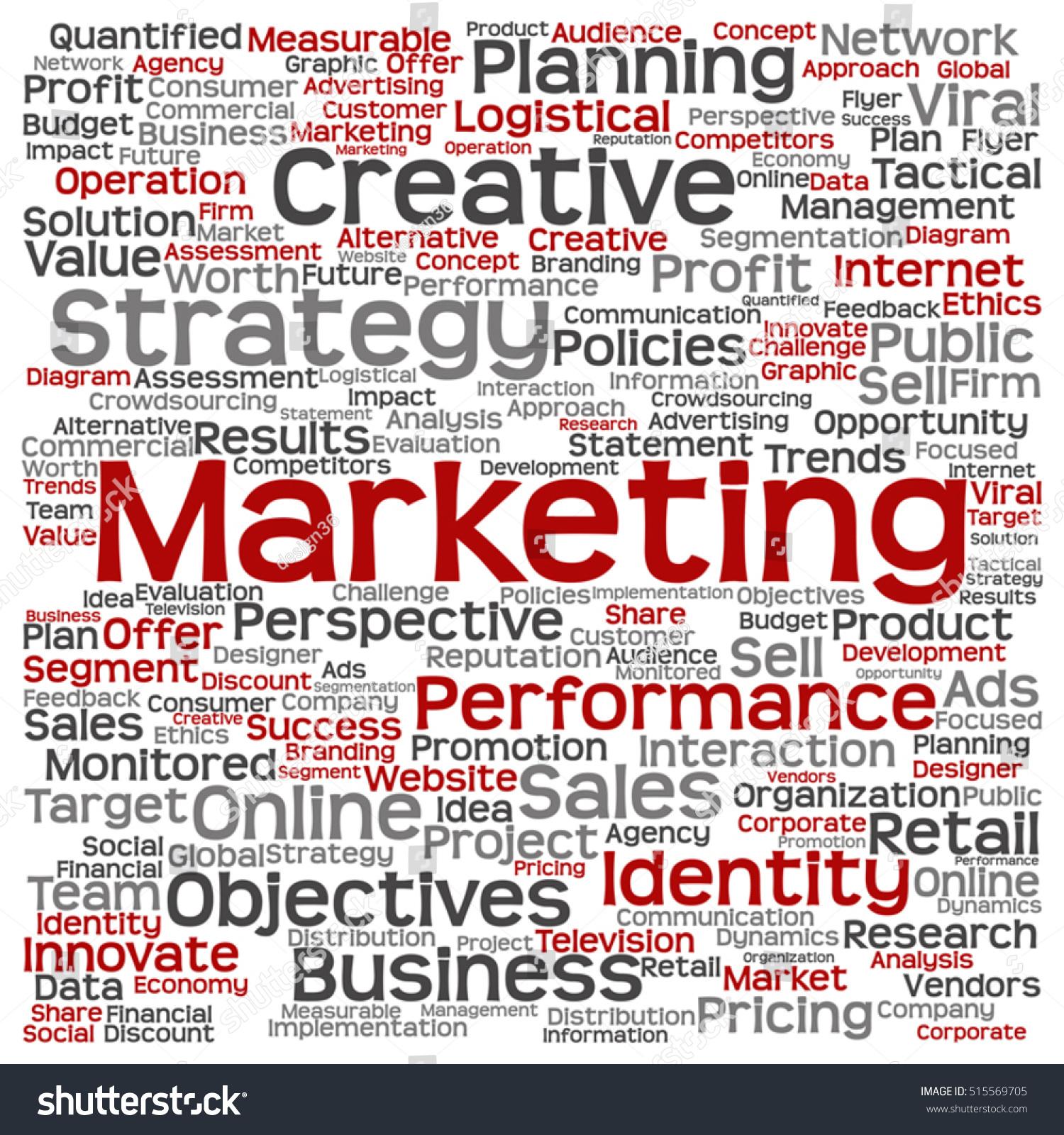 vector concept conceptual business marketing square stock vector 515569705