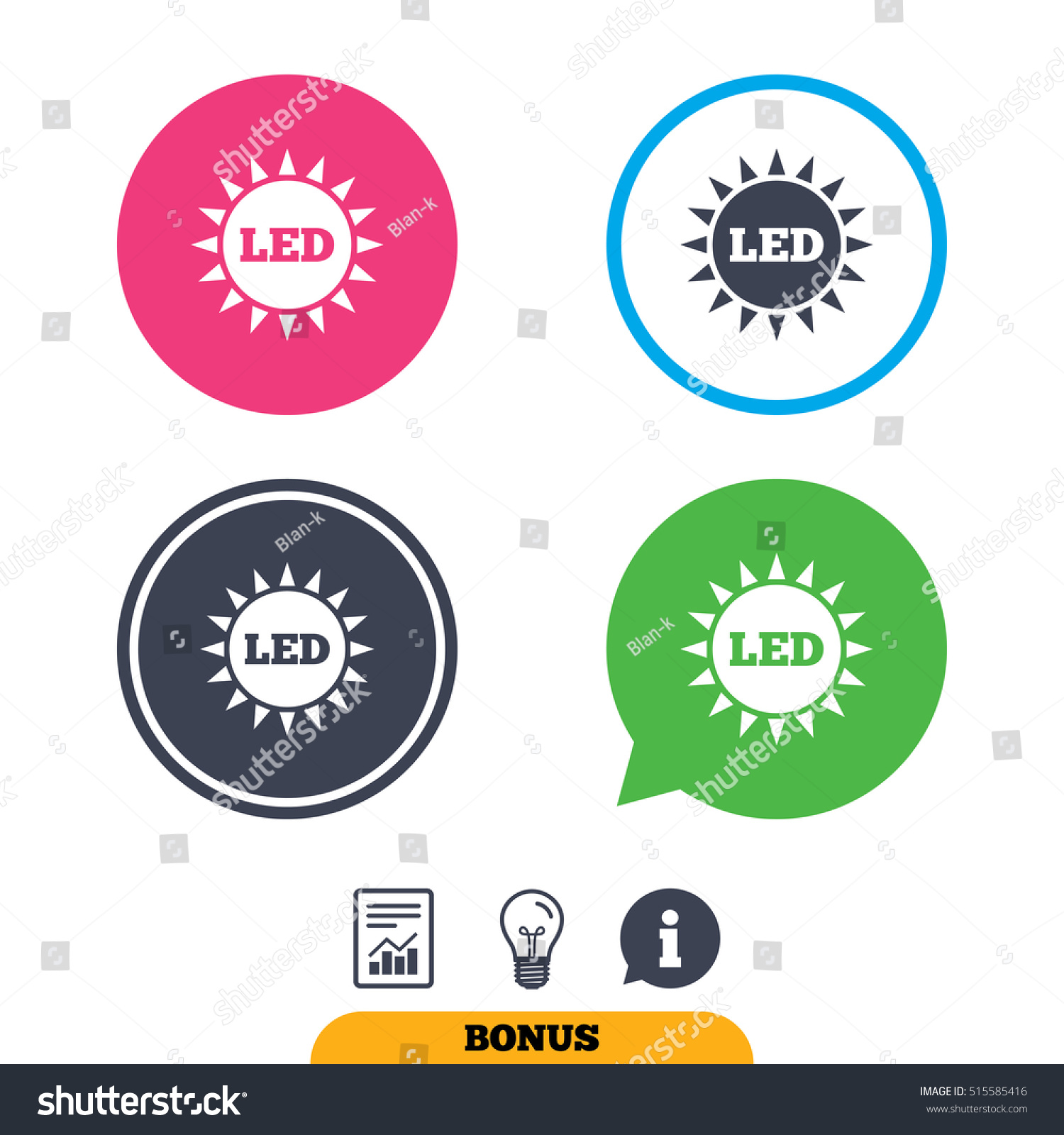 Diode Images Stock Photos Vectors Shutterstock Electronic Circuit Symbols Vector Illustration 1445110 Led Light Sun Icon Energy Symbol 515585416