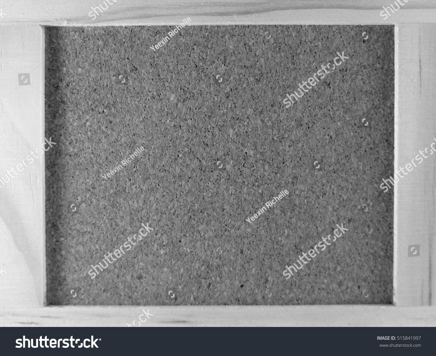 Black and white cork board cover background. #515841997