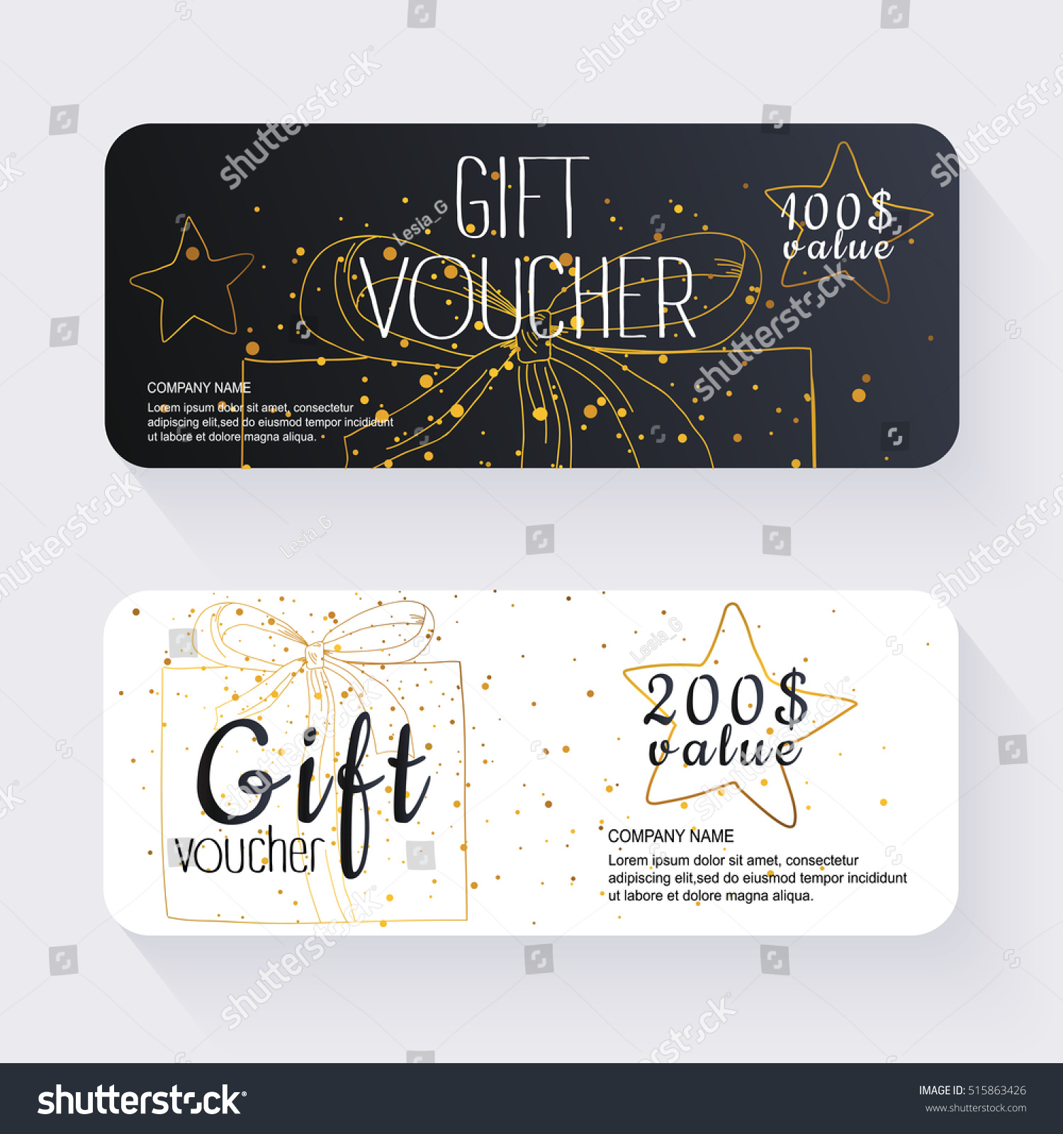 Gift voucher template gold background background gift voucher template with gold background background design coupon voucher certificate invitation yelopaper Images