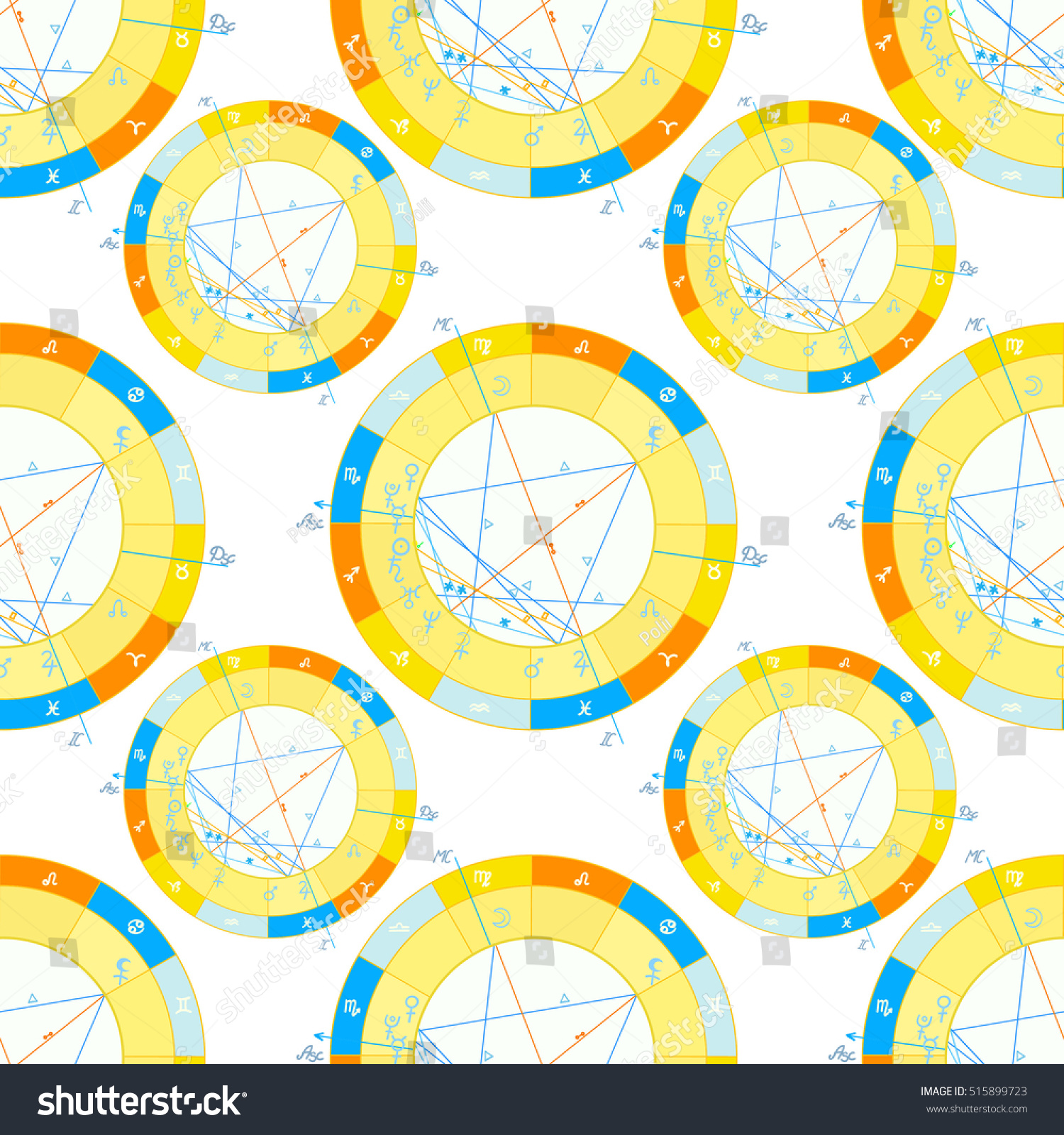 Seamless pattern natal astrological chart zodiac stock vector seamless pattern of natal astrological chart zodiac signs vector illustration nvjuhfo Image collections