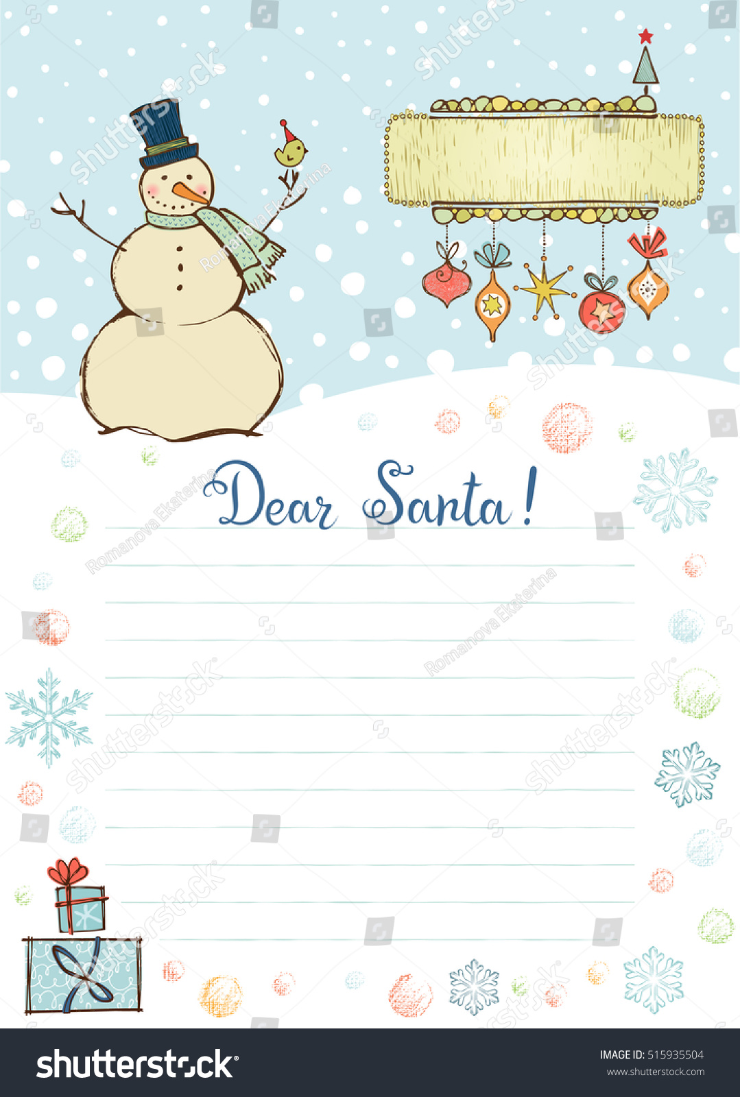 Best Of Letter Template To Santa Claus Images  Complete Letter