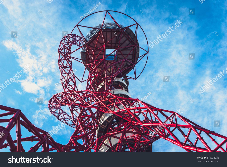 Queen elizabeth olympic park london july stock photo 515936233 queen elizabeth olympic park london july 28 2013 arcelormittal orbit tower in buycottarizona