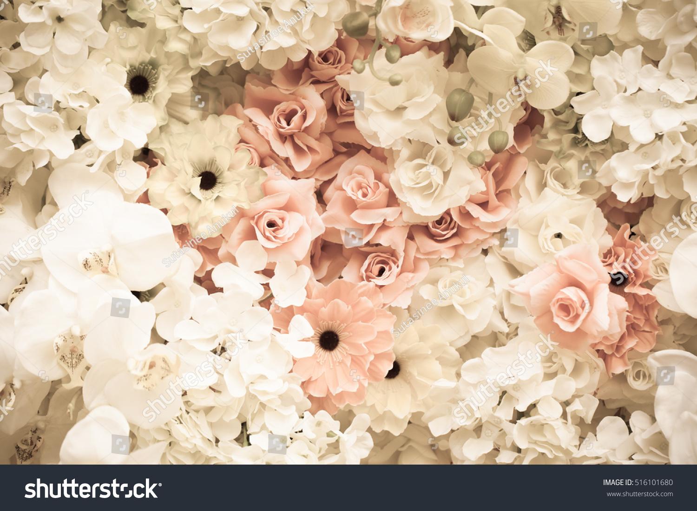 Soft Tone Flower Background Pastel Flower Stock Photo Edit Now