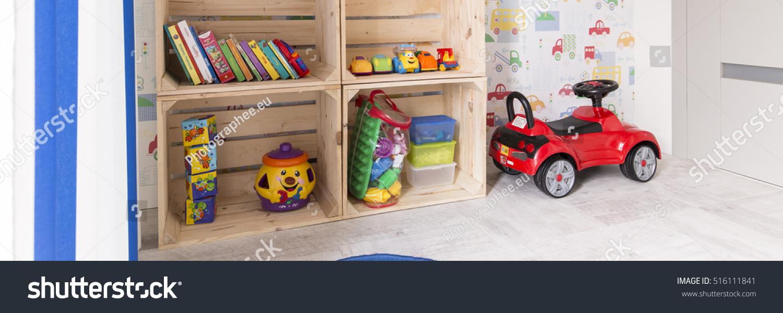 Play Corner Little Kids Room Ecofriendly Stock Photo 516111841 ...