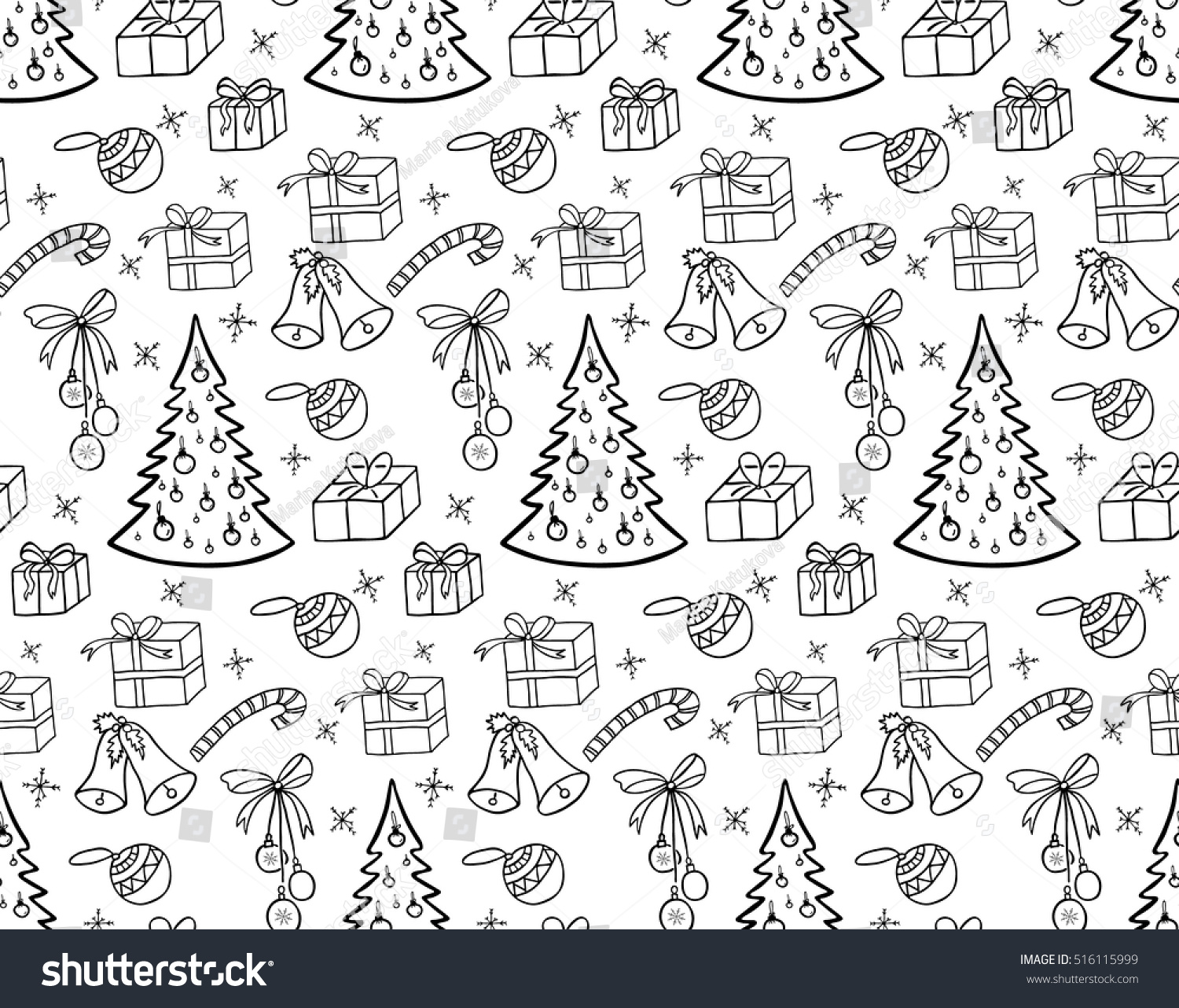 Christmas Background Black And White Remar