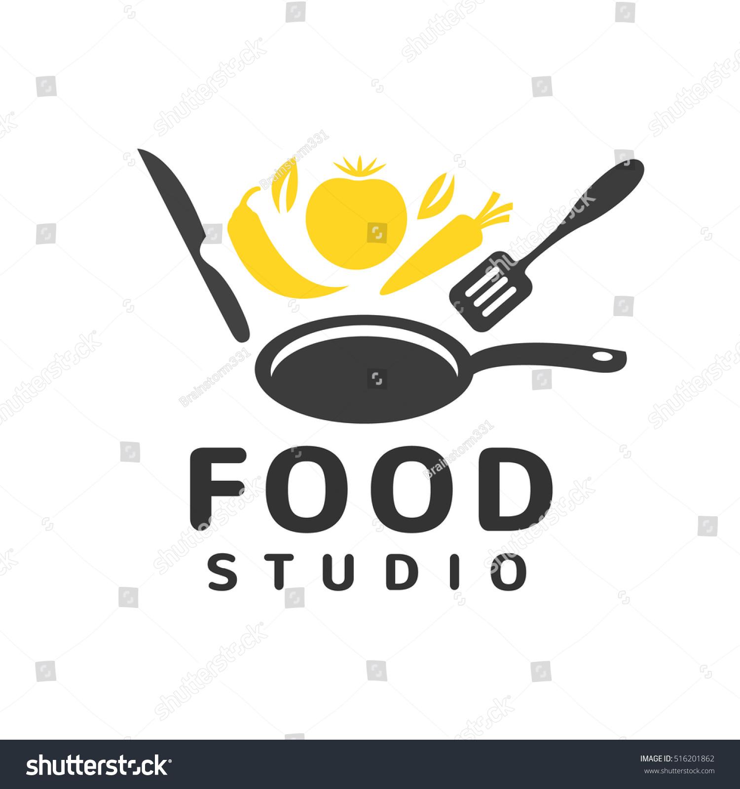 Cooking Logo Vector Logo Concept Kitchen Stock Vector