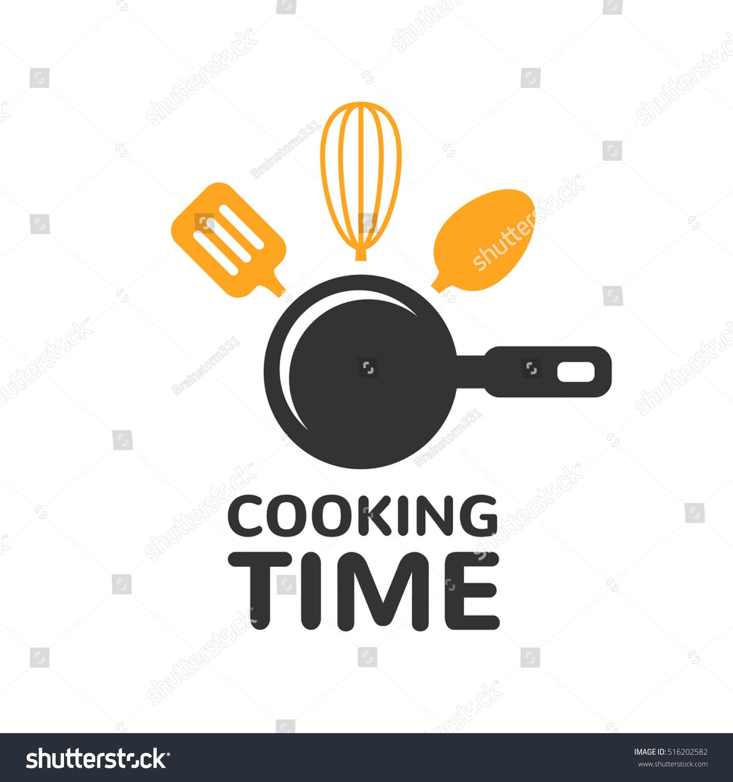 Food Studio Vector Logo Template Kitchen Stock Vector